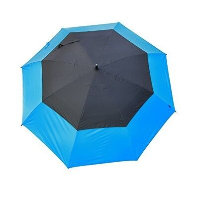 Masters Golf - Tourdri Gr 32 Inch Uv Umbrella Electric Blue/jet Black - Bluejet