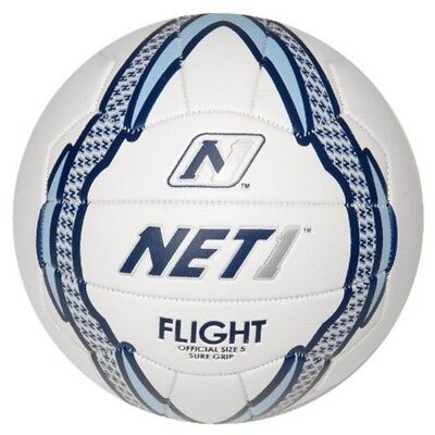 Net1 Women's Flight Netball - White/blue, Size 4 - White Blue Foil Only