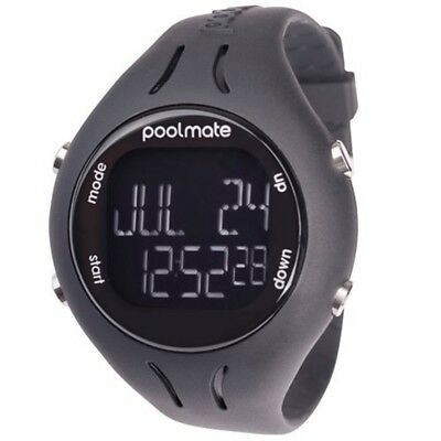 Swimovate Poolmate2 Swim Sports Watch, Black - 2 Pool Mate Watch Watchpurple