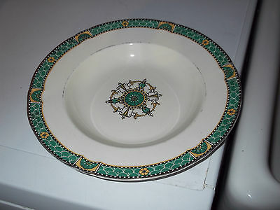 1936 Minton  Soup Bowl In Fulham Pattern  Designed By John Wadsworth