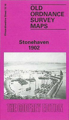Old Ordnance Survey Map Stonehaven 1902