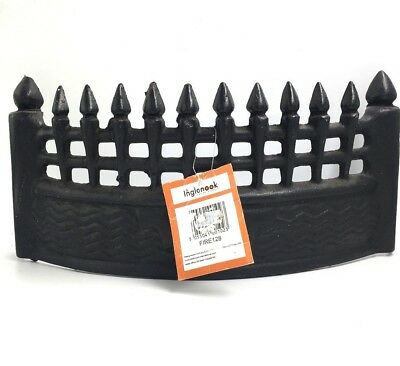 """Inglenook 16"""" Front Fire Grate Fret Black Cast Iron Traditional  Fire128"""