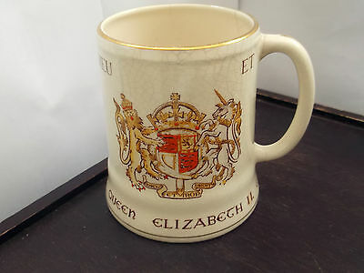 1953 Grays / Sandland Mug For The Coronation Of Queen Elizabeth 11