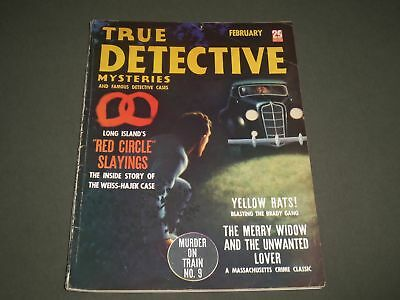 1938 February True Detective Mysteries Magazine - Red Circle Slayings - Sp 8115