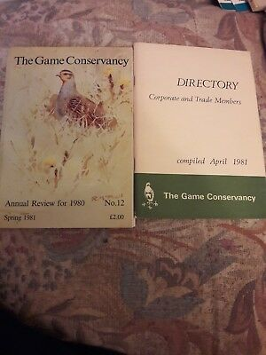 "The Game Conservancy"" Annual Review for 1980 And Directory Compiled April 1981"