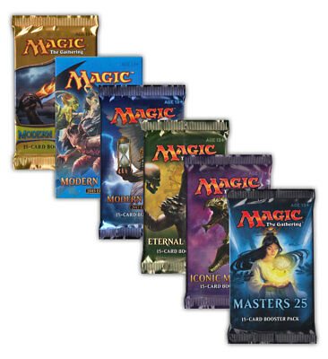 Magic the Gathering Masters Booster Modern 2015 2017 Eternal Iconic Masters 25