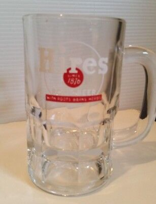 Vintage Hires Root Beer Soda Since 1876 Roots Barks Herbs Heavy Glass Mug 5""