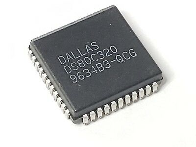 Lot of 26 Dallas IC MCU 8BIT Romless 44PLCC / DS80C320-QCG - Ships from US