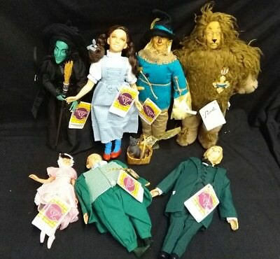 Wizard of OZ By Presents A Division of Hamilton Gifts 7-14 inch dolls '87-'90