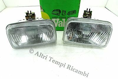 Paire Phare Ford Fiesta 1^ '76 '84 Mk1 93820033 Lampe Frontale Scheinwerfer
