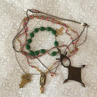 Estate Find 3-Piece Lot of Jewelry Saints