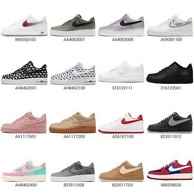 new style bff74 f3f0a Nike Air Force 1 07 LV8 Mens Classic Shoes Fashion Sneakers Trainers AF1  Pick 1