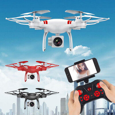 With/No Camera Four-axis Drone One Key Return RC Drone Helicopter Aircraft Style