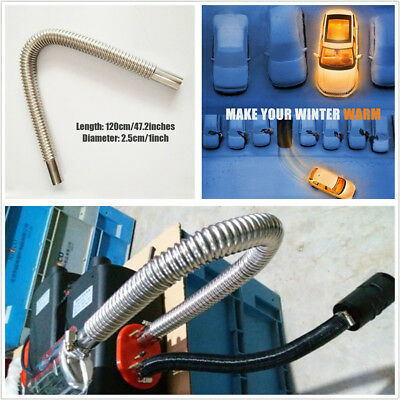 60cm Exhaust Pipe+Silencer For Air Diesel Parking Heater For Car Auto Bus Truck