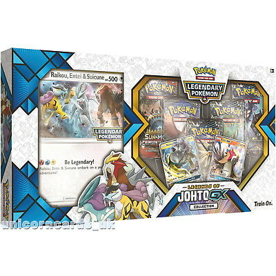 Pokemon TCG: Legends of Johto GX Collection :: Brand New And Sealed!