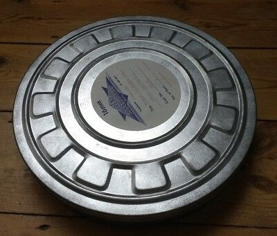 Vintage 16mm Cine Film Reel Can from RAF Museum - Old Cannister Movie Canister