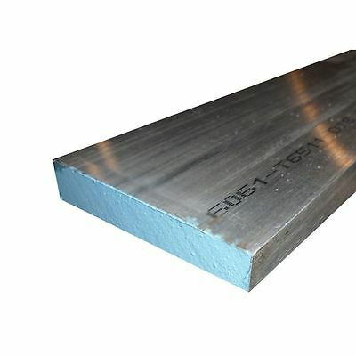 "6061-T6511 Aluminum Flat Bar 3/8"" x 2"" x 12"" long"