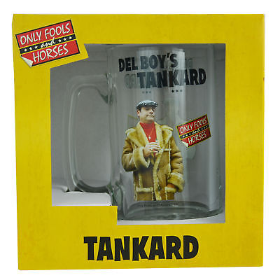 Only Fools and Horses Del Boy's Tankard In Gift Box Gifts Him Birthday Christmas