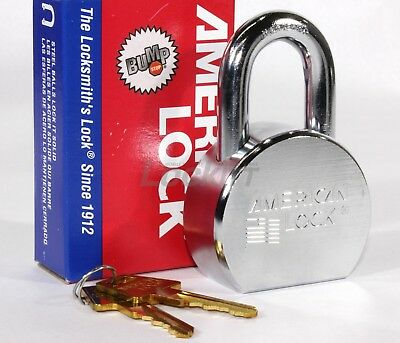 American A700 Series Steel Padlock - Keyed Alike
