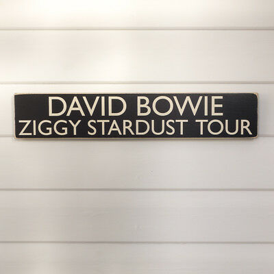 Joke Music Sign Funny Roundabout Song Sign DAVID BOWIE FASHION Sign