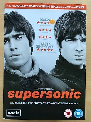 Supersonic ~2016 OASIS GALLAGHER Brothers POP INGLESE MUSIC DOCUMENTARIO UK DVD