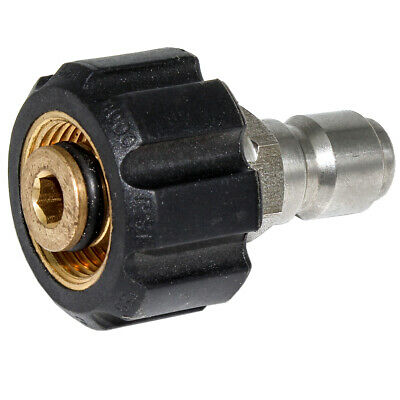 """22MM FeMale To 3/8"""" QC Pressure Washer Fitting for Parker PW-FIT-22MMF-38QC"""