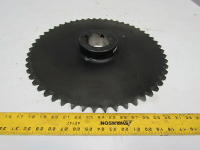 "Tsubaki 80B54F # 80 Roller Chain 1"" Pitch Sprocket 3"" Bore 17"" OD"