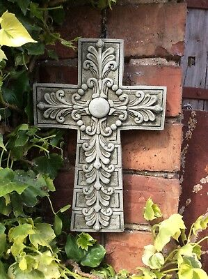 Stone Garden Celtic Cross Wall Plaque Hanging