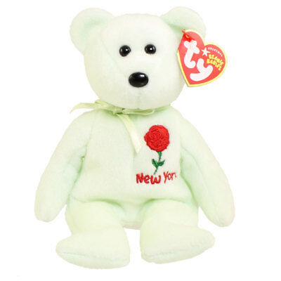 fc105e87a84 TY BEANIE BABY - NEW YORK ROSE the Bear (Show Exclusive) (8.5 inch ...