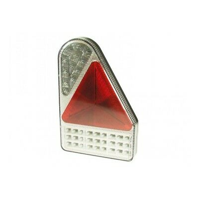 Mp8605br Maypole 10-30v LED R/h Rear Combi Lamp S/t/i/fog/rev/reflex - Vert -