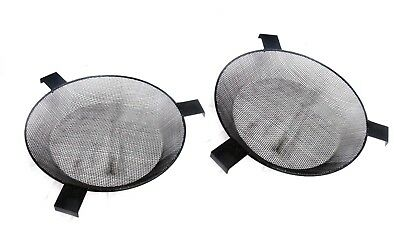 Set of 2 Groundbait  & maggot Fishing Bait Riddle Sieve For Buckets  Large 33cm