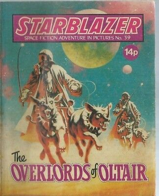 The Overlords Of Oltair,starblazer Space Fiction Adventure In Pictures,no.39