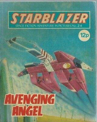 Avenging Angel,starblazer Space Fiction Adventure In Pictures,comic,no.24