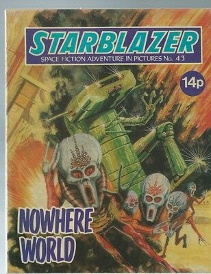 Nowhere World,starblazer Space Fiction Adventure In Pictures,comic,no.43