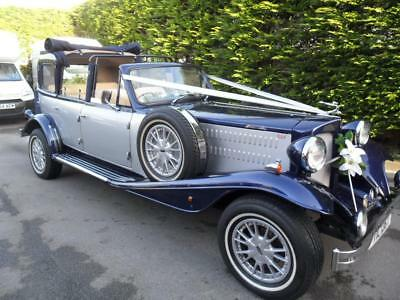 Beauford Sedanca De Ville Tourer Wedding Car