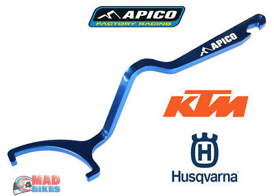 Apico Rear Shock C Spanner, Preload Adjuster Tool. Husky KTM 125 - 450 2016 2017