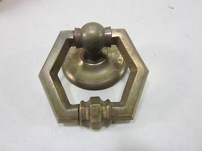 Vintage Large Made in Italy Heavy Brass Ring Pull