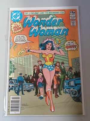 Wonder Woman #269 Dc Comics July 1980