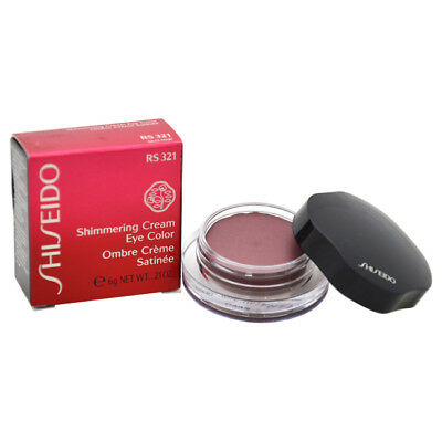 Shimmering Cream Eye Color - # RS321 Cardinal by Shiseido for Women - 0.21 oz