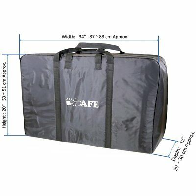 iSafe Universal Luggage Travel Bag To Fit Britax, Baby Jogger, iSafe, Obaby Pram