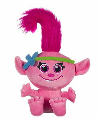 Official Trolls Baby Poppy Super Soft Plush Soft Toy Teddy New With Tags