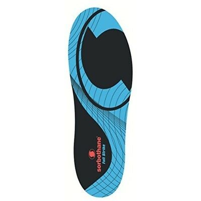 Sorbothane Full Strike - Size 10 - Insoles Stopper Foot Care Sports Orthotic