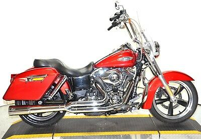 2012 Harley-Davidson Dyna  2012 Harley Davidson Dyna Switchback FLD-103 ABS Security Vance 2:1 Pipe Extras!