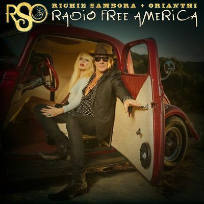 RSO (Richie Sambora & Orianthi) RADIO FREE AMERICA CD New Release May 11th 2018