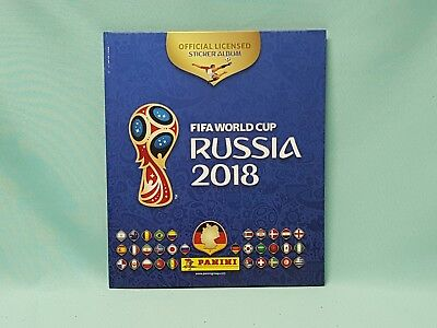 Panini WM 2018 Russia World Cup Sticker Hardcover Album Sammelalbum