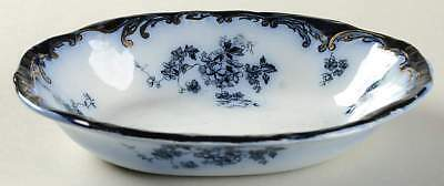 Ridgway CHISWICK (FLOW BLUE) Oval Fruit Dessert Bowl 10643364