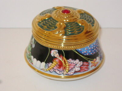 Faberge & Franklin Mint Petrouchka Imperial Music Trinket Box Collection