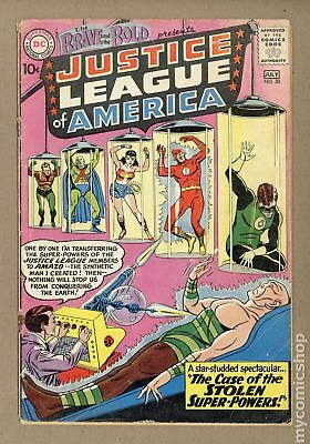 Brave and the Bold (1st Series DC) #30 1960 GD+ 2.5