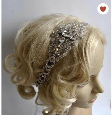 Gorgeous Bling Bridal Headband Or Prom