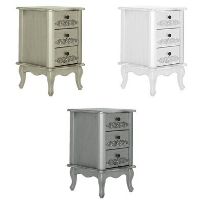 Argos Home Sophia 3 Drawer Bedside Chest - Choice of Colour